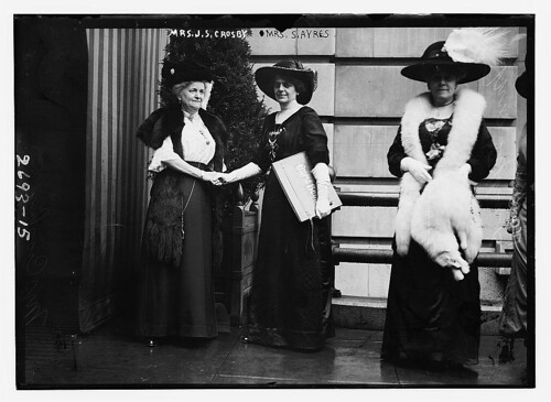 Mrs. Crosby and Mrs. Ayres (LOC) by The Library of Congress