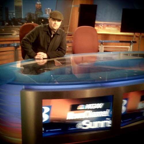 Julian Chadwick at KGW, Newschannel 8