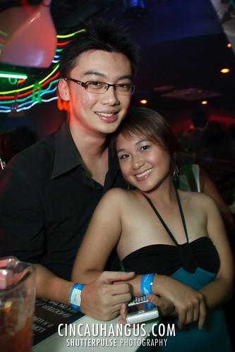 Aww.. Lovely photo of Chung Lern & Stephanie