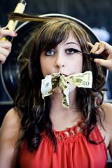 (morgan.laforge) Tags: money closeup makeup salon mascara curlingiron costofbeauty julierolfs