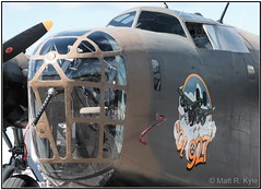 """Consolidated B-24A Liberator """"Ol 927"""" (mrkyle229) Tags: aircraft wwii airplanes aeroplane airshow consolidated bomber liberator warbird b24 b24a ol927"""