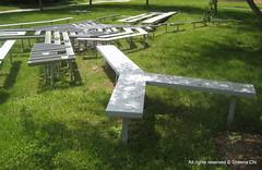 Landscape Sculpture - Mary Miss (Sheena 2.0™) Tags: sculpture usa america newjersey nj princeton mercercounty ias 08540 instituteforadvancedstudy marymiss zip08540 instituteforadvancedstudies landscapesculpture 08548 zip08548 princetitute