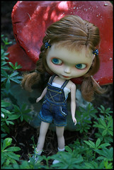 Just a little more Lottie... (jillybug ~) Tags: blue garden charlotte jeans overalls custom shrooms lottie giftee sabrinaeras bizacco thankyoularissaxoxx