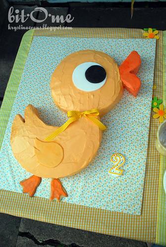 Duck Cut-Up Cake