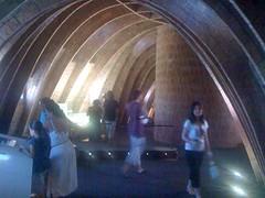 Casa Mil by Gaudi in Barcelona - 75 (Johan Sderberg) Tags: gaudi casamil interrail2009