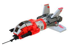 Taiidan Raptor 01 (Brainbikerider) Tags: lego space homeworld moc starfighter taiidan foitsop