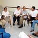 Contando experiencias - iz a der - Benjamín Maldonado y Wisa Padilla, José Brizuela y Lupita Ventura, Enrique Álvarez y Mayra Hurtado