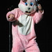 Green Day Concert - Drunk Easter Bunny Strikes at a Concert