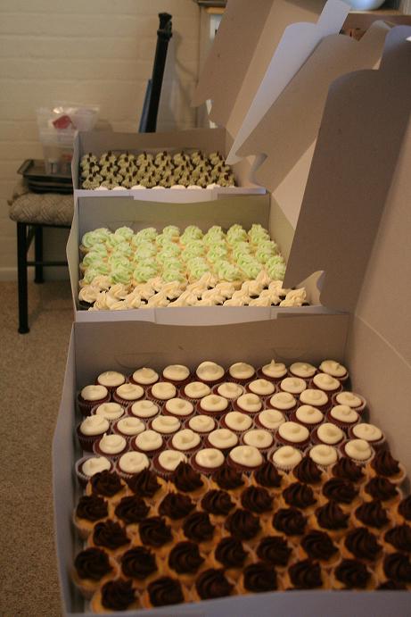 300 mini cupcakes