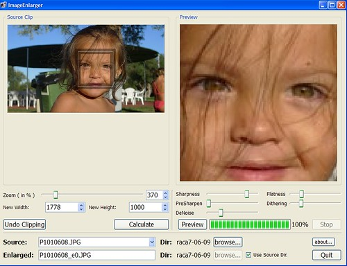 Image Enlarger software