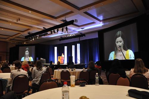 Heather Spohr at Community Keynote