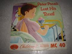 Peter Ponsil Lost his Tonsil