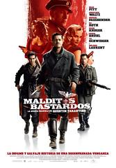 'Malditos bastardos', el homenaje de Tarantino al cine bélico