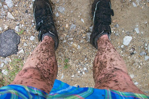 Muddy Again from Mountain Biking
