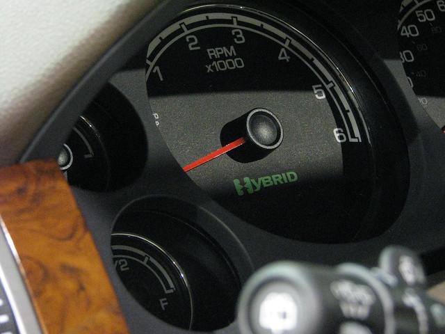 auto show 2 chevrolet tahoe richmond international hybrid mode 2009