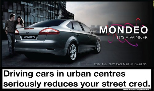 Driving Cars Kills Your Street Cred