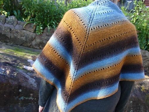 Blue shawl 4