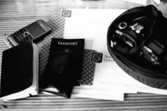 The World Is Yours (davidfigueroa.) Tags: notebook cam cell honduras 135 passport bwfilm endfornow