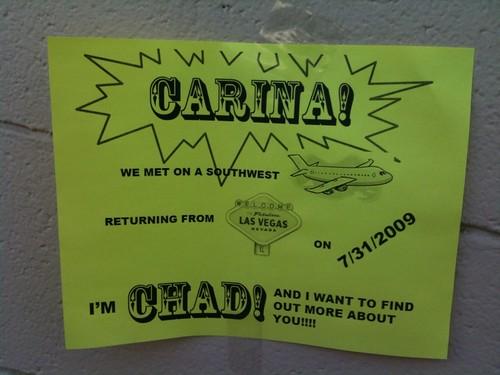 Anyone know Carina?