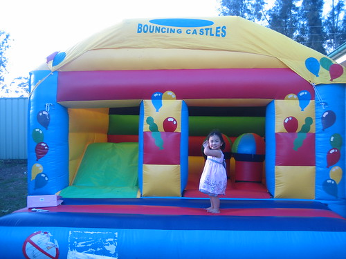 "Hannah in the ""Jumping Castle"""