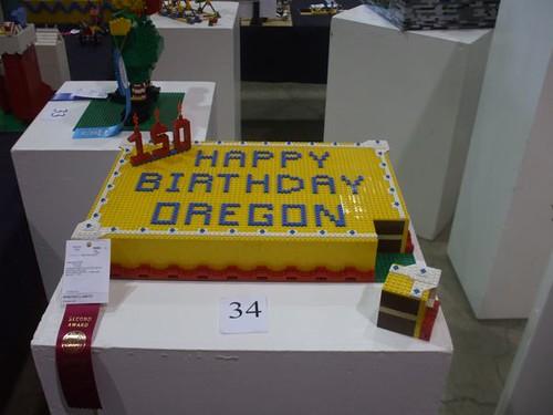 Sesquicentennial cake