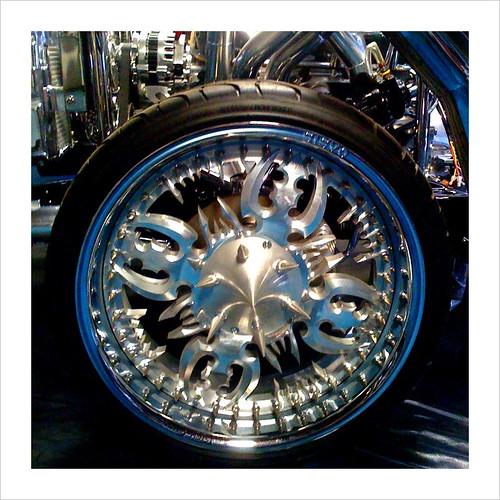 Custom wheels by Rich Evans
