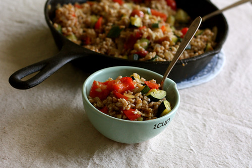 Summer Vegetable Farro Salad