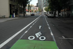 buffered bike lanes