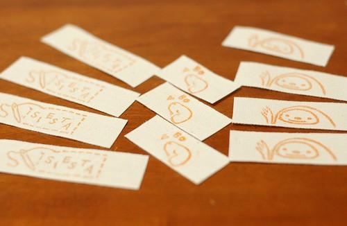 Handmade tags