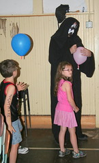 Death Signs an Autograph (Jacob...K) Tags: pink america wrestling south baloon southern autograph pro americana cloak nightmare appalachian appalachia wrasslin