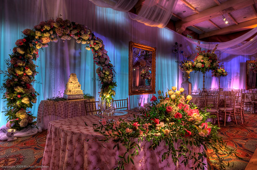 Wedding details - just before the guests arrived