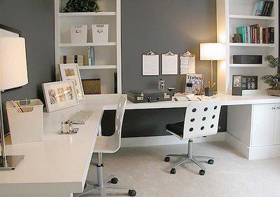 decorar o escritório
