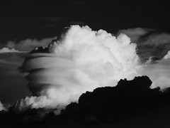 Thunderhead (Bryce Bradford) Tags: red blackandwhite bw green contrast high colorado olympus boulder double filter polarizer zuiko circular hoya unedited 25a f3556 sooc 1442mm e520 mockinfrared