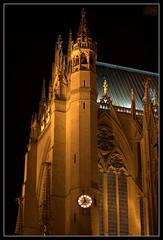 Golden Light (fs999) Tags: monument cathedral pentax cathdrale sdm historical ville metz historique aficionados artcafe alignements vob digitalcameraclub dastar k20d vuedenbas ashotadayorso justpentax pentaxone villedemetz pentaxk20d topq