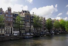Prinsengracht canal, Amsterdam (Ricardo Villafane) Tags: amsterdam landscape canal paisaje prinsengrachtcanal