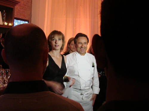 Tonya Steel and Daniel Boulud