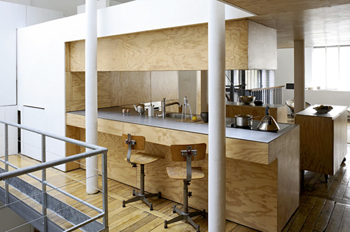 plywood paris loft