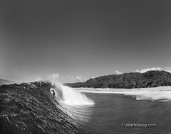 Surf Playground (Sean Davey Photography) Tags: pictures blackandwhite bw nature horizontal amazing energy power natural wave alternativeenergy northshore curl aquatic renewableenergy greenenergy offthewall greenpower oceanwaves amazingnature seawave alternativepo