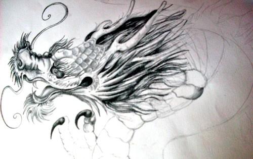 disenos tatuajes dragon. Etiquetas: Diseños de dragones, Mis dibujos