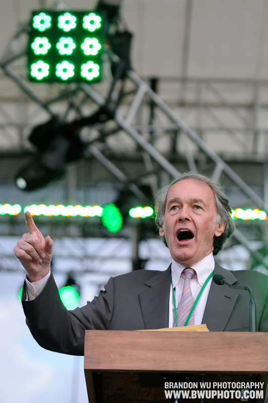 Rep. Ed Markey (D-Mass.) @ Earth Day Climate Rally