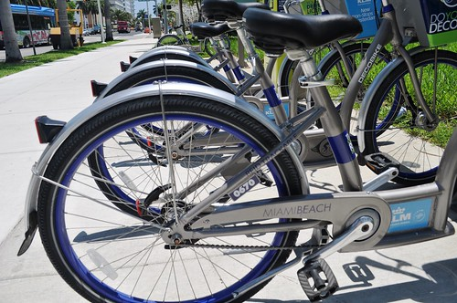 South Beach's DECOBIKE Share & Rental Program