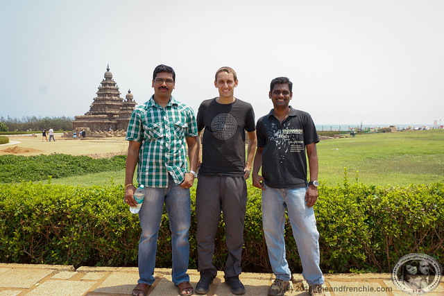 Boris With JP And Ram @ Shore Temple