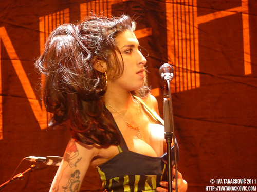 Amy Winehouse live in Belgrade