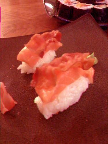3D Bacon Sushi