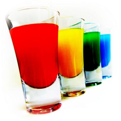 shot arco iris