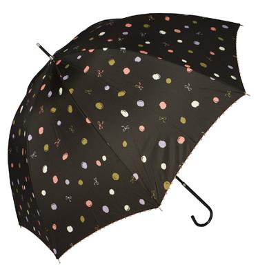 bows and balls rain umbrella