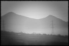Power-Lines (ludwig van standard lamp) Tags: bw mist misty fog mystery wales landscape holga cymru dream foggy creativecommons dreamy snowdonia elomo eholga