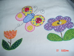 DSC04159 (cantinhodahakathi.blogspot.com/) Tags: flores artesanato fuxico escola patchwork avental cozinha molde costura appliqu patchcolagem panodecopa cantinhodahakathi hakathi