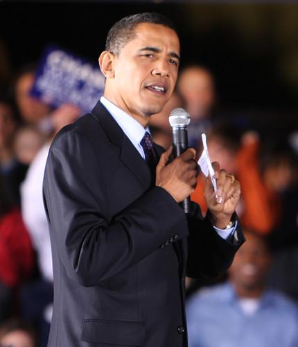 welcome to Washington, Mr. Obama