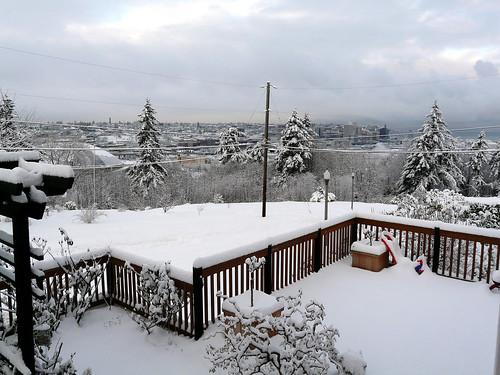 Tacoma Snow!